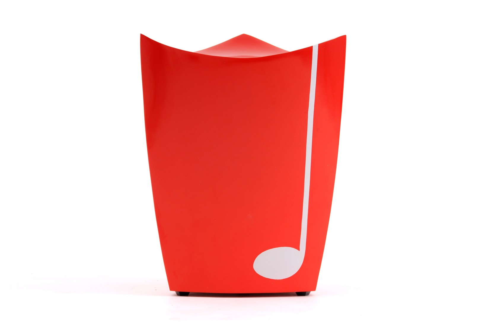 Tabouret Record Rouge