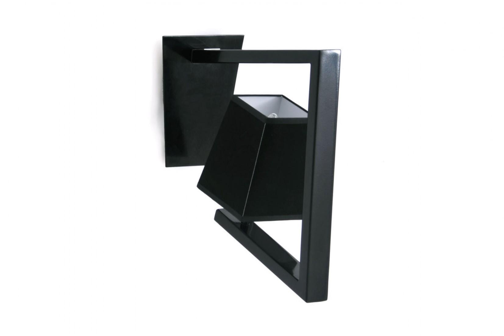 CROSSFADE APL RAL9005 - applique, noir