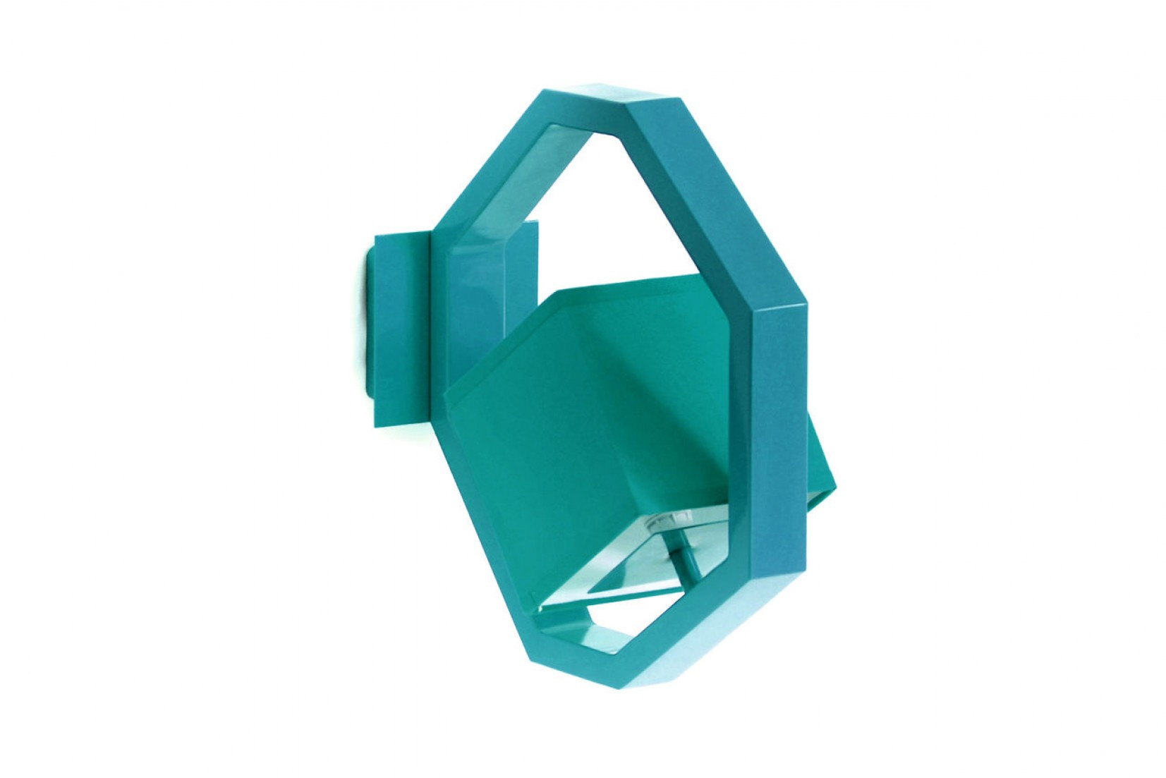 EQUALIZER APL RAL5021 - applique, bleu d'eau