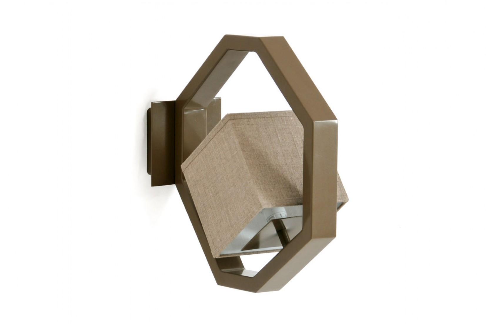 EQUALIZER APL RAL7006 - applique, brun