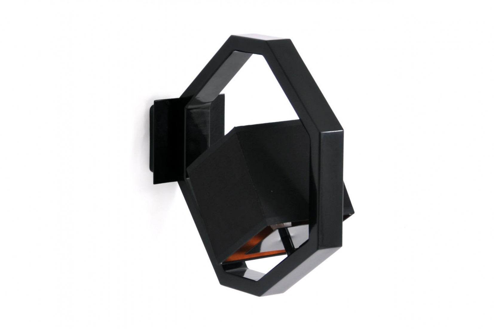 EQUALIZER APL RAL9005 - applique, noir